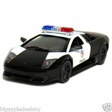 "Kinsmart 1:38 scale Lamborghini  POLICE CAR LP640 diecast model 5"" new"