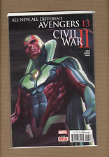 ALL-NEW, ALL-DIFFERNT AVENGERS #13 VISION COVER MARVEL COMICS 2016 NM+