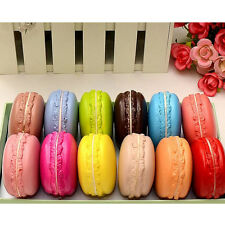 Squishy Rising Charm 3D Dessert Macaron Xmas Key Straps Lovely Gift Color