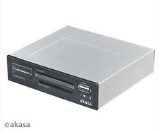 Akasa AK-ICR-03USBV2 Internal Four Slot Card Reader and USB Port
