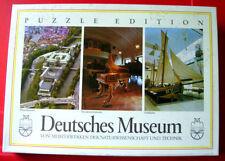 F.X.Schmid DEUTSCHES MUSEUM 3 X 80 pc Jigsaw Puzzle Museumsinsel/Island Berlin