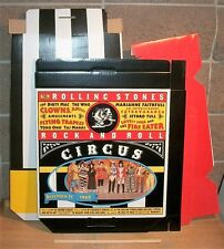 Rolling Stones Rock & Roll Circus RARE 3D Store Display for CD/DVD. Merchandiser