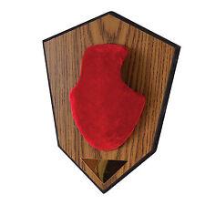 Allen Antler Mounting Kit 561 Red Skull Cover Engravable Plate