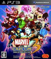 UsedGame PS3 Marvel Vs Capcom 3 Fate of Two Worlds FreeShipping [Japan Import]