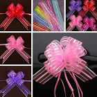 Hot Sale 10pcs Pull Bow Cute Lovely Ribbons Wedding Floristry Car Decorations