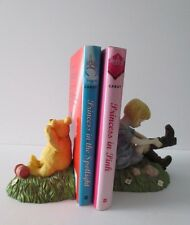 Timeless Walt Disney's Charpente WINNIE the POOH & CHRISTOPER ROBIN Bookends