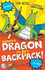 There's a Dragon in My Backpack!-ExLibrary