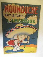 """Durst """"Nounouche fait le tour du monde L'Amérique"""" en EO /Enfants de France"""