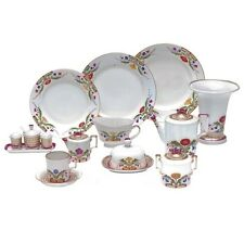 Russian Imperial Lomonosov Porcelain Table Service Moscow River / Zamoskvorechye