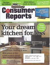 Consumer Reports Magazine August 2008 Kitchens LCD Plasma TV's Running Shoes SUV