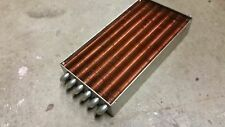 Lytron Heat Exchanger, Stainless Steel Tube with Copper Fins P/n: 4121-G3 (USED)
