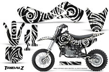 KAWASAKI KLX110 02-09 KX65 00-12 GRAPHICS KIT CREATORX DECALS TRIBALZ W