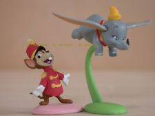 "New Full Set! ""Dumbo and Timothy Mouse"" So Tiny! 2 Figures Disney Choco egg"