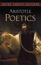 Poetics by Aristotle 9780486295770 (Paperback, 1997)