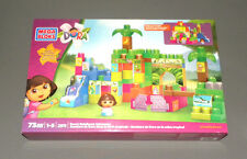 MEGA BLOKS Dora the Explorer Dora's Rainforest Adventure Building Set 2911 NEW