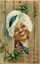 """c1910 St Patrick's Day """"May The Corners Of Your Mouth Never Turn Down"""" Postcard"""