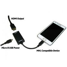 Samsung MHL to HDMI 1080P HDTV Adapter Cable Samsung Galaxy S3 S4 S5 Note 3/4