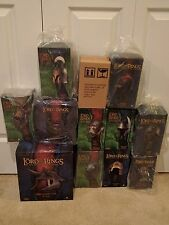 Sideshow Weta HELM LOT Troll Elven Orc Elessar Sam Lord of the Rings LotR Hobbit