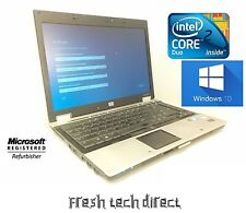 HP EliteBook 6930p Intel Core 2 Duo - 2.53GHz 4GB DDR2 160GB Windows 10 Home