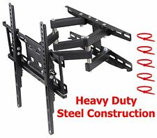 TV Bracket Full Motion 32 42 48 50 55 LED LCD Flat Screen Tilt Swivel Wall Mount
