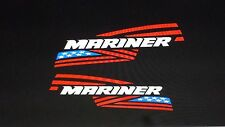 MERCURY MARINER FLAG OUTBOARD DECALS 15 inch