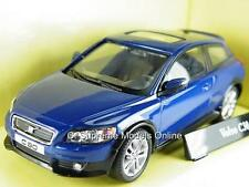 VOLVO C30 MODEL CAR 1/43RD SCALE BLUE PACKAGED BOXED ABREX ISSUE PKD K8967Q~#~