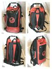 Waterproof 30L dry bag roll top rucksack, padded back & straps. Submersion proof