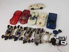 VINTAGE LOT STROMBECKER 1/32 SLOT CARS & BODIES FORD LOTUS & MOTORS UNTESTED