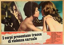 SERGIO MARTINO SUZY KENDALL TORSO ORIGINAL ITALIAN MOVIE POSTER PHOTOBUSTA 3