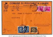 ITALIA REP. - Segnatasse - 1957 - Filigrana stelle L. 10 - Filigrana ruota L. 4