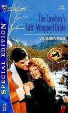 THE COWBOY'S GIFT-WRAPPED BRIDE No. 1365 by Victoria Pade (2000, PaperbacK)
