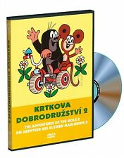 The Adventures Of the Little Mole 2 sealed Czech DVD region free Krtek Maulwurf