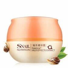 Natural Snail Nutrition Essence Extract Whitening Oil Control Face Cream 50g  EA