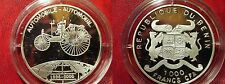 2000 Benin Large Silver  Proof 1000 fr  Invention- Automobile
