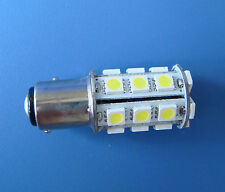 10x BAY15D 1157 Marine lights, boat bulb 24-5050 SMD LED AC/DC 12~24V,White