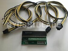 Gigampz HP DPS-800GBA PSU Adapter Breakout Board Kit for Bitcoin Miner + 4 PCIe