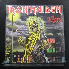 Iron Maiden - Killers LP New Sealed ST-12141 1981 USA Vinyl Record No Cut Out