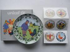 Heinrich Villeroy & Boch UNICEF Kinder der Welt Nr. 4 Frankreich + OVP (2-4-7)