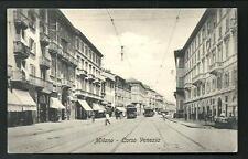 Milano : Corso Venezia - cartolina non viaggiata primi '900