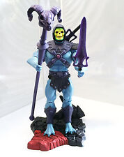 SKELETOR • C8-9 • 100% COMPLETE w/STAND • MASTERS OF THE UNIVERSE CLASSICS