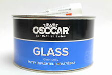 SALE OSCCAR GLASS car and boat Sandable Body Fibre Glass Bridging Filler 1.7Kg