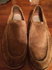 Clarks Terrier Suede Round Toe Slip On Loafer