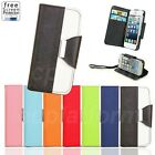 Wallet Card Slot Magnet Flip Stand Leather Cover Case Pouch for iPhone 4/4s 5/5s