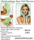 Moisturizing Spa Gel Gloves Vitamin E Jojoba ...Pair of Gloves ..Free Shipping