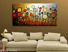 MODERN ABSTRACT HUGE LARGE CANVAS ART OIL PAINTING NO FRAME!