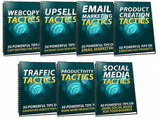 350 Powerful Sales And Marketing Tactics Discovered - Now Get 7 Reports (CD-ROM)