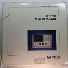 Agilent HP 8510C Network Analyzer On-Site Service Manual P/N 08510-90282