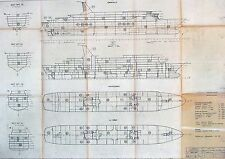 3 CUNARD COUNTESS & PRINCESS Shipyard Blueprints - NAUTIQUES sHiPs WORLDWIDE