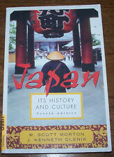 JAPAN ITS HISTORY AND CULTURE - FOURTH ED. - MORTON, OLENIK - Softcover - VGC!
