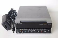 Sony HVR-M15AU 1080i HDV DVCAM DV MiniDV Player Recorder Deck,15X10  Drum Hours